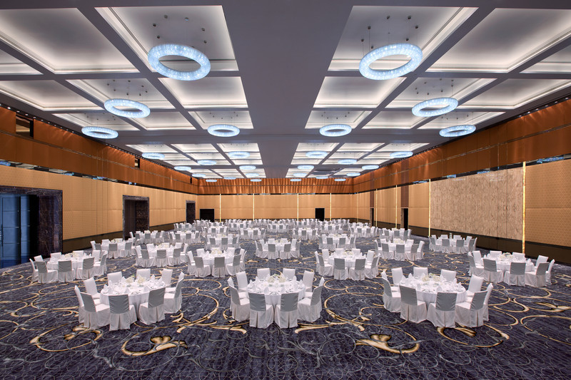 Source: Jumeriah Hotel at Etihad Towers. Ballroom