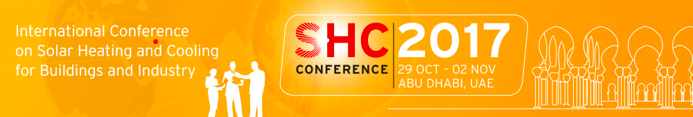 SHC 2015 - International Conference on Solar Heating and Cooling for Buildings and Industry